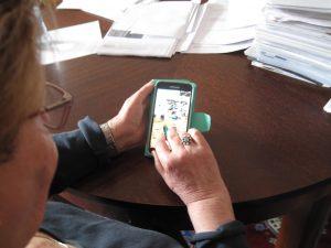 Smartphonetraining für Senioren